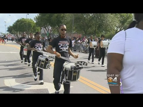 Large Parade Held In Miami For Dr. Martin Luther King Jr. Day