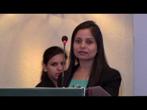 Speech of Ms Sharmila R., Ph D Candidate, NLSIU Bangalore