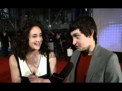 London Premiere: Submarine | Yasmin Paige & Craig Roberts (The Fan Carpet)
