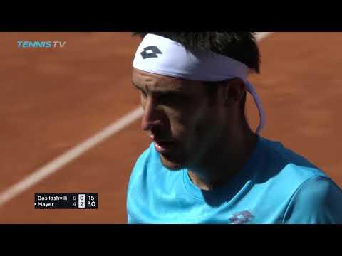 Basilashvili Beats Defending Champion, Wins First ATP Title | Hamburg 2018 Final Highlights
