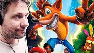 Crash Bandicoot Remastered #1 LINDO E NOSTÁLGICO (Gameplay em Português PT-BR)