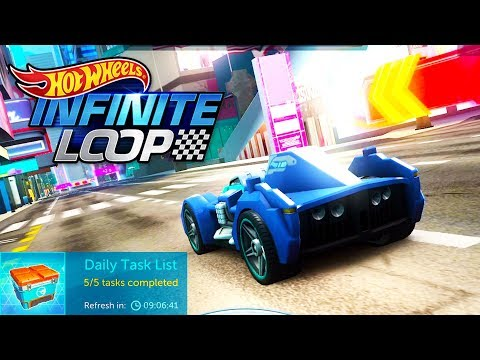 Hot Wheels Infinite Loop Daily Task challenges #5 | Android Gameplay | Droidnation