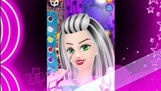 ГРЕЙСИ, салон красоты. Прохождение игры /GRACIE  Monster Salon gameplay/ MS1