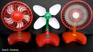 Toys Fan - Kipas Angin Mainan Baling Baling Putih Homemade