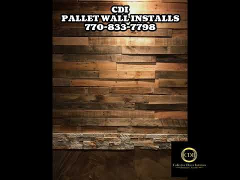 PALLET WALL INSTALLS By Collective Decor Interiors