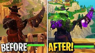 How to UPGRADE Fortnitemares Skins in Fortnite...