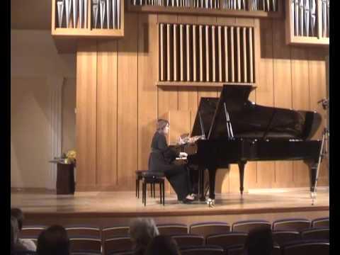 Frederic Chopin  Mazurka  C-dur  op.24 № 2  Anastasia Grishutina (piano)