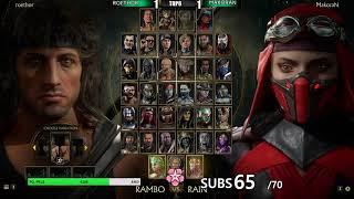Mortal Kombat 11 PCLW9   Full Tournament! TOP8 + Finals