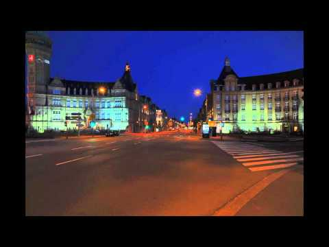 Good Night Luxembourg City Time Lapse