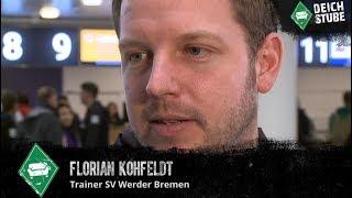 Vor Abflug nach Südafrika: Werder-Coach Kohfeldt im DeichStube-Interview