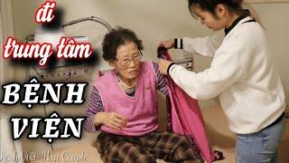[Hàn Quốc] Đưa nội đi khám sức khỏe và đến trung tâm thế nào?