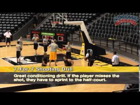 Discover a Great Shooting and Conditioning Drill from Gregg Marshall!