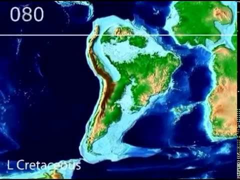 Plate Tectonic Evolution of South America   Scotese Animationvia torchbrowser com 2 1