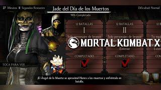 Mortal Kombat X Android Desafio / Challenge Jade del Dia de los Muertos Normal