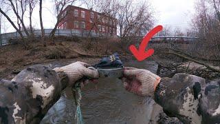 Вот Это Да Вытащил Клад из воды чей то на Поисковый Магнит