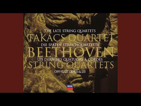 Beethoven: String Quartet No.12 in E flat, Op.127 - 4. Finale