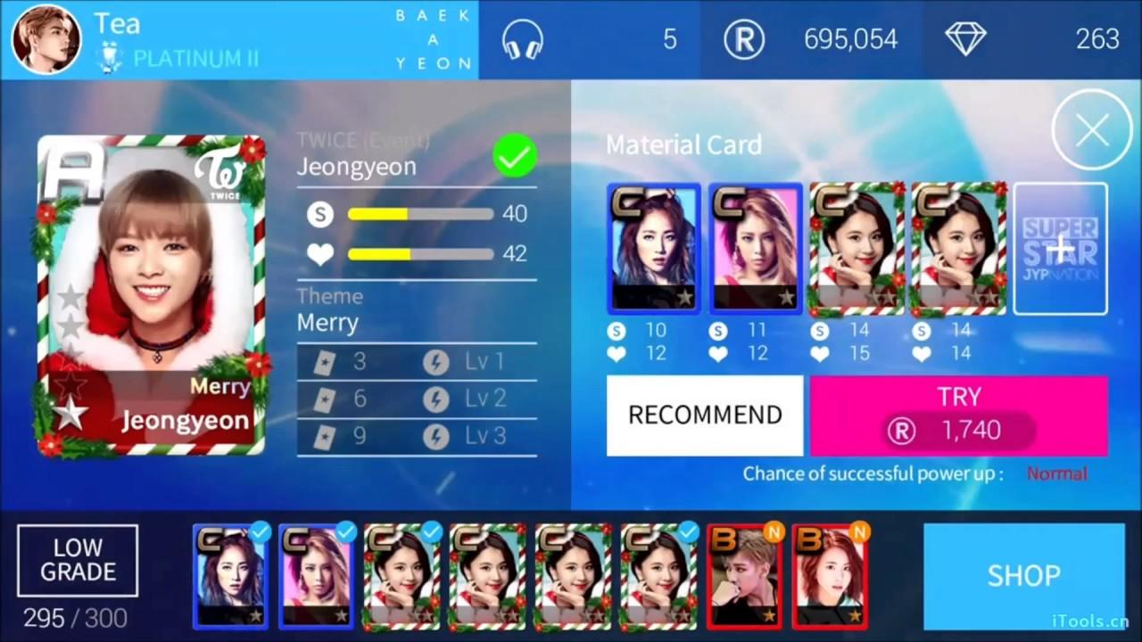 SuperStar JYP Nation] Day 7 Premium Mission