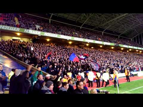 "Crystal Palace - Sunderland Fanatics ""We love you..."""