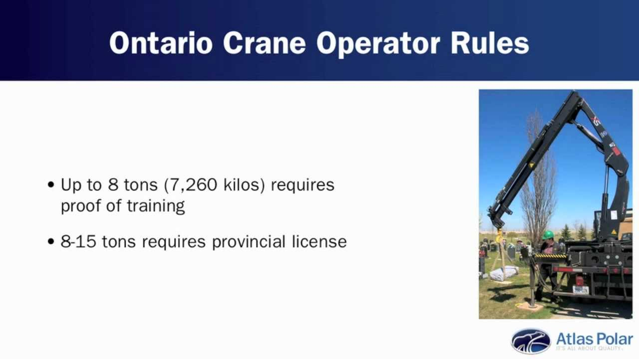 How To Keep Your Hiab Crane Operators Safe And Certified Youtube