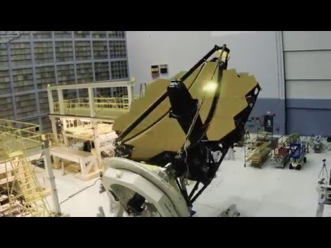 NASA Team working on the NEW James Webb Telescope (Timelapse)