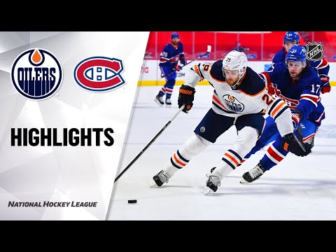 Oilers @ Canadiens 2/11/21   NHL Highlights