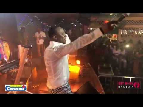GRACIA DELVA WITH MASS KONPA LIVE @ GUYANE 14 AVRIL 2018