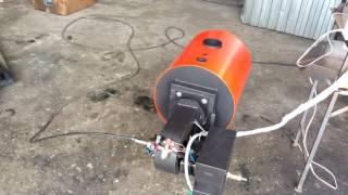 Автоматический котел Уют 20 кВт с горелкой ГНОМ