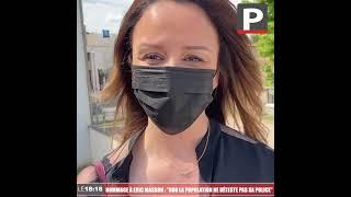 """Avignon - Hommage à Éric Masson : """"Non la population ne déteste pas sa police"""" (Linda Kebbab)"""