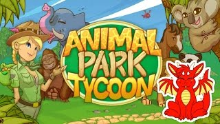 THIS GAME HAS DRAGONS?! - Animal Park Tycoon Deluxe