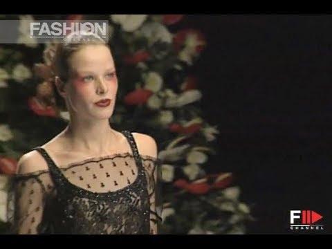 ROCCO BAROCCO Fall Winter 1997 1998 Haute Couture Rome - Fashion Channel