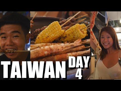 Taiwanese Food: Tremendous Seafood, Taipei Zoo, and Mao Kong Lunch!