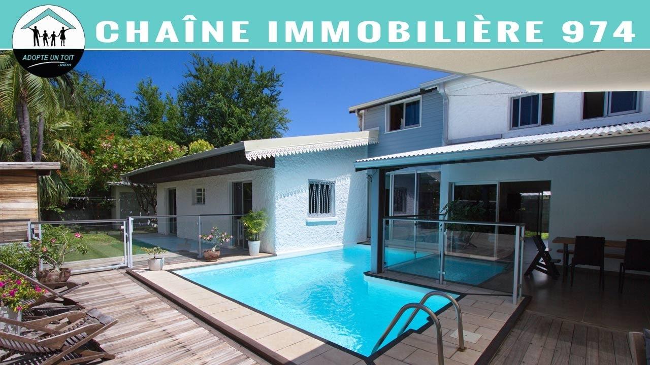 La saline les bains vente maison 97434 m17267 adopte for Agence immobiliere 974 reunion