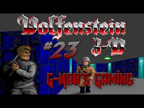 G-Man's Gaming - Wolfenstein 3D Part 23 - Crazy Difficult |