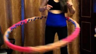 Пояс для похудения Body Belt+Обруч