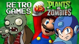 retro games vs plants vs zombies