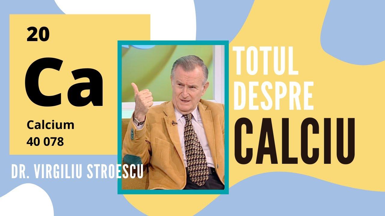 Totul despre CALCIU | dr. Virgiliu Stroescu