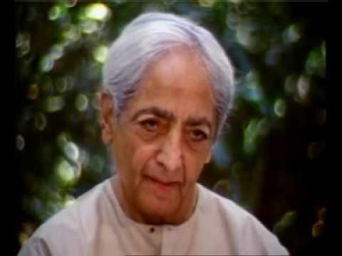 Krishnamurti el pensamiento