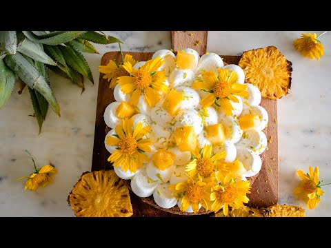 quick-eggless/vegan-pineapple-&-sweet-lime-cake