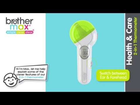 2 in 1 thermometer (Not Available in the UK)