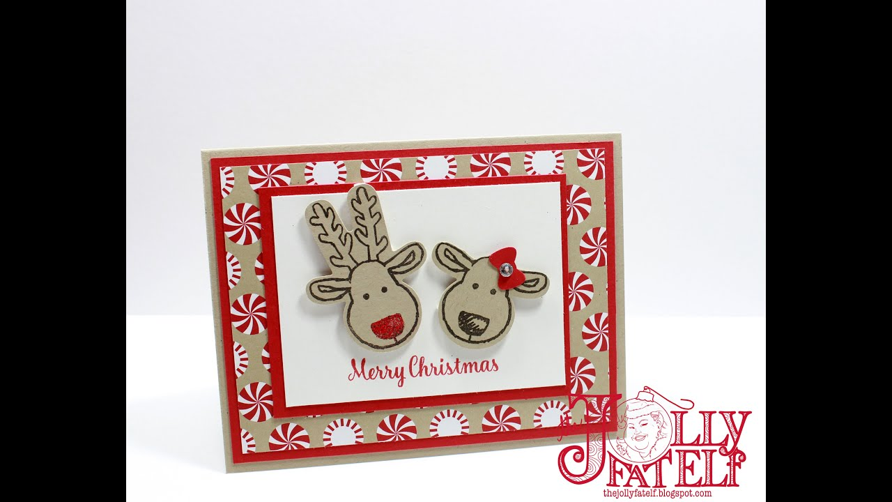 Stampin' Up! Cookie Cutter Christmas #1 Mass Producing Monday ...