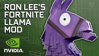 GeForce Garage - The Fortnite Llama