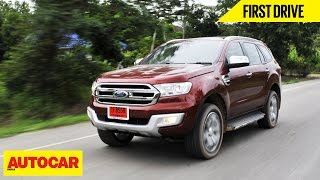 2015 Ford Endeavour | First Drive | Autocar India
