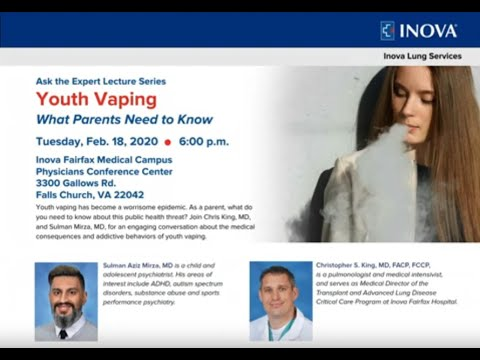 Inova Ask the Expert: Youth Vaping What Parents Need to Know