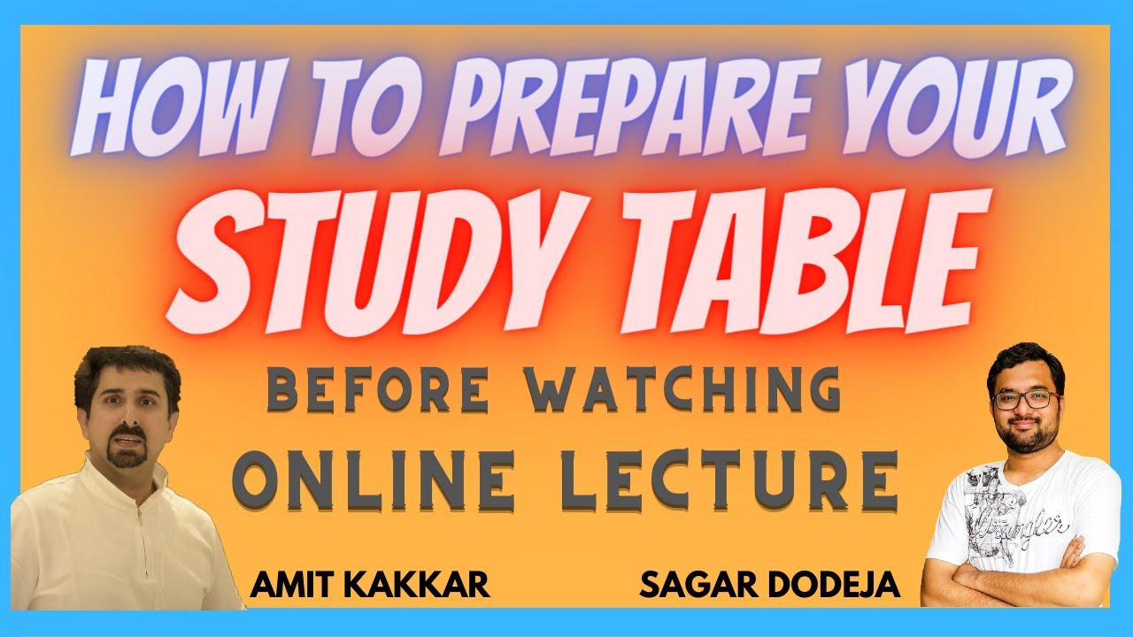 Prepare/Organize Your Study Table | Things Required On Study Table | Last Video-Applied First | 6/6