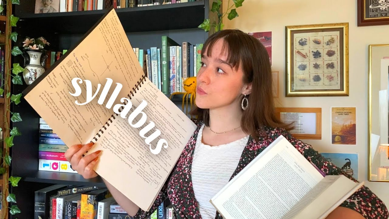 What does an English Major read? Year 2 & Lecture Notes