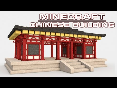 minecraft chinese building