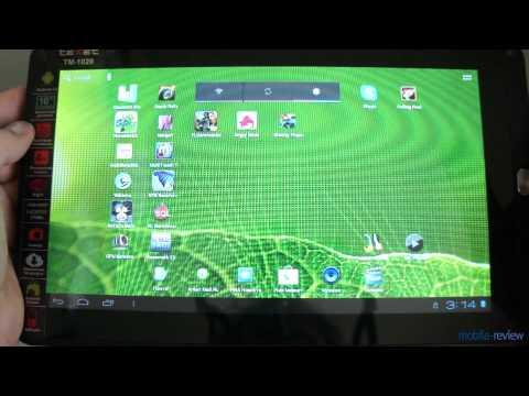 Обзор планшета TeXet TM-1020