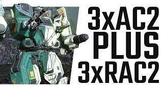 6 Autocannons = FUN! Dakka Mauler - Mechwarrior Online The Daily Dose #521