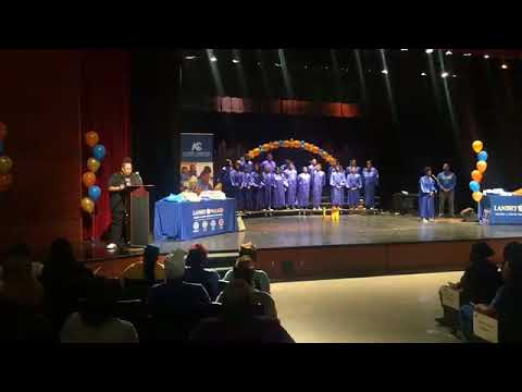 Landry-Walker High School in Algiers hosts its Academic Signing Day