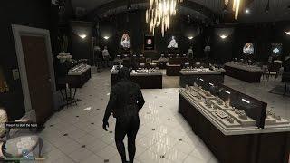 Cướp Tiệm Vàng - Kim Cương Trong GTA V #1 Tên Cướp Liều Mạng Nhất Thế Giới - ThanhTrungGM